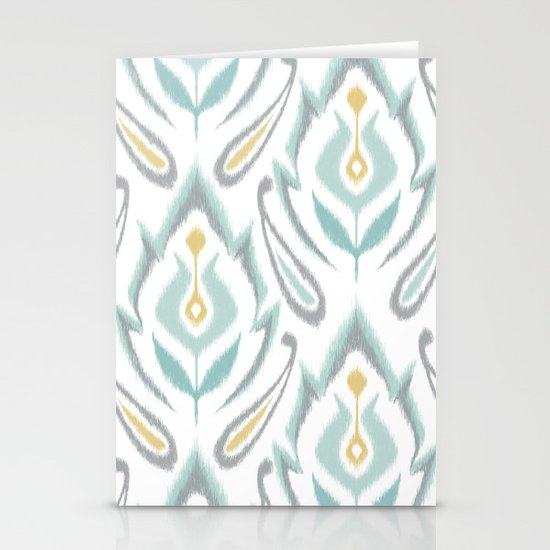 Soft Ikat Stationery Cards