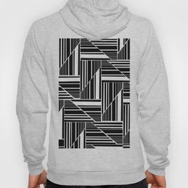 STRIPED PATCHWORK Hoody