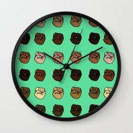 Unity! Together We Rise! Wall Clock