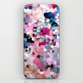 Pink Moon Love iPhone Skin
