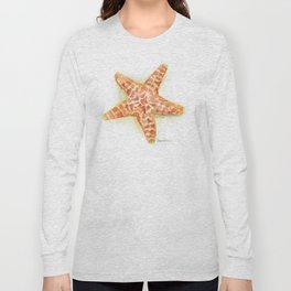 Sea Star Watercolor Long Sleeve T-shirt