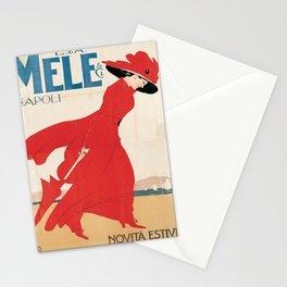 Vintage poster - Mele Estate Stationery Cards