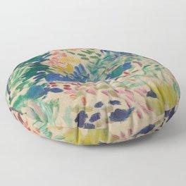 Landscape at Collioure by Henri Matisse Floor Pillow