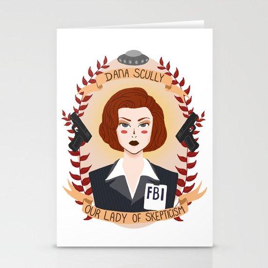 Dana Scully Stationery Cards