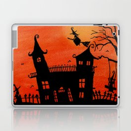 Haunted House Witch Play Laptop & iPad Skin