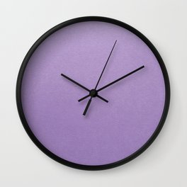 Light Purple Wall Clock