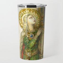 """Gustave Moreau """"Saint Cecilia"""" Travel Mug"""