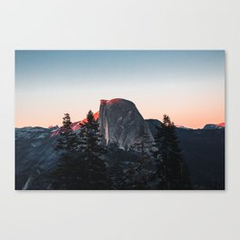 Last Light at Yosemite National Park Canvas Print