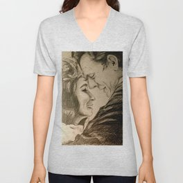 I Want To Love Like Johnny And June Unisex V-Neck