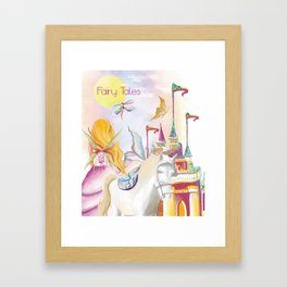 Fairy Tales Framed Art Print