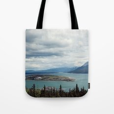 Bove Island Tagish Lake Tote Bag