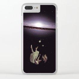 Viento del Azur Clear iPhone Case