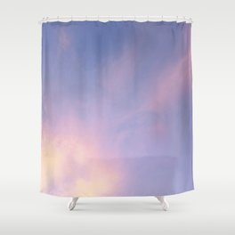 Warm Touch Sky V8 Shower Curtain