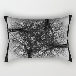 Fractal Tree Confusion Rectangular Pillow