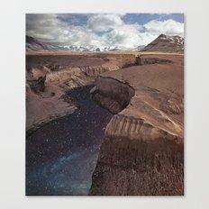 Space River Canvas Print