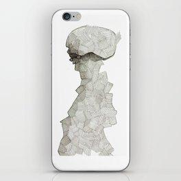 Squared glass iPhone Skin