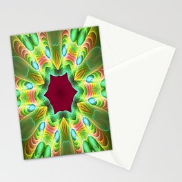Heavenly Hexagon Stationery Cards