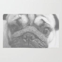 Pug Face Rug