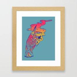Witch Hand Framed Art Print