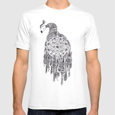 Peacocks White SMALL Mens Fitted Tee