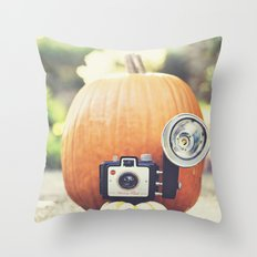 Big Pumpkin Throw Pillow