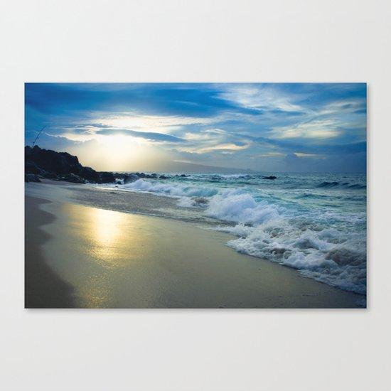 One Dream Sunset Hookipa Beach Maui Hawaii Canvas Print
