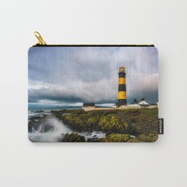 St. John's Point Lighthouse - Print  County Down, Northern Ireland.(RR 265) Carry-All Pouch