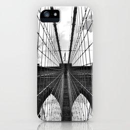 Brooklyn Bridge Old School iPhone Case
