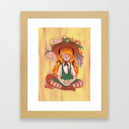 Warm Wind Blows Framed Art Print