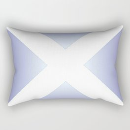 flag of scotland - with color gradient Rectangular Pillow