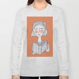 Reading Jane Austen is always a good idea. Long Sleeve T-shirt