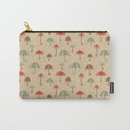 Umbrella pattern Carry-All Pouch