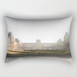 The Louvre Rectangular Pillow
