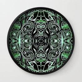 Jade Jungle Wall Clock