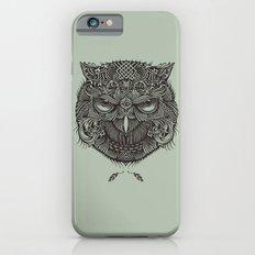 Warrior Owl Face iPhone 6s Slim Case