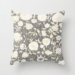 boho paisley Throw Pillow