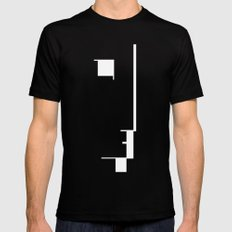 BAUHAUS AUSSTELLUNG 1923 Mens Fitted Tee MEDIUM Black