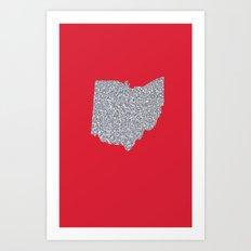 Ohio Shine Art Print