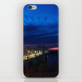 Evening Blues iPhone Skin