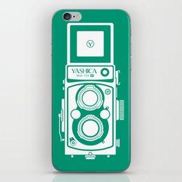 Yashica Mat 124G Camera Emerald iPhone Skin