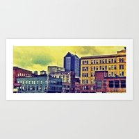 ohio Art Prints featuring Ohio by David Lowell