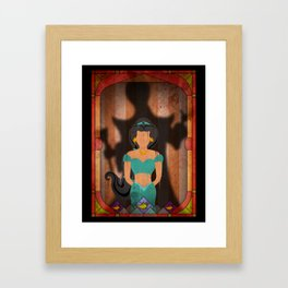 Shadow Collection, Series 1 - Lamp Framed Art Print