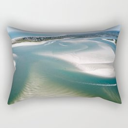 Rich's Inlet at the North End of Figure 8 Island   Wilmington NC Rectangular Pillow