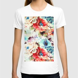 Poppies 03 T-shirt