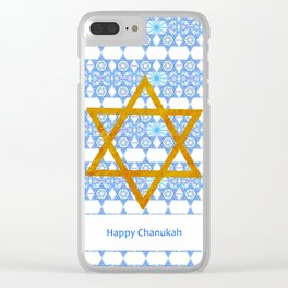 Happy Chanukah! Clear iPhone Case
