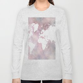 Design 66 world map Long Sleeve T-shirt