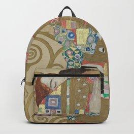 Gustav Klimt - The Embrace Backpack