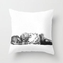 Streets of Uganda Throw Pillow