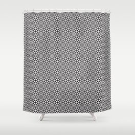 Checkered Shapes Pattern I Shower Curtain