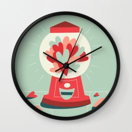 Sweet Love Wall Clock